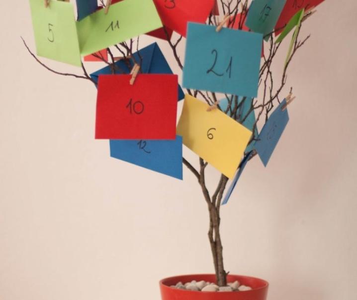 Adventni koledar za zaposlene mame
