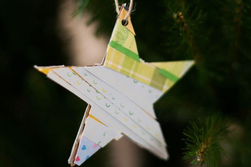 Zvezdice iz papirja