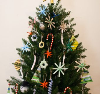Domači okraski za božično jelko