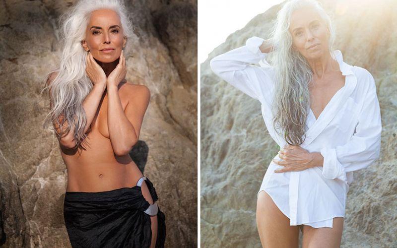 61 letna manekenka Yazemeenah Rossi