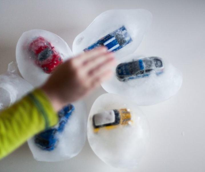 Ledena jajčka in spoznavanje ledu