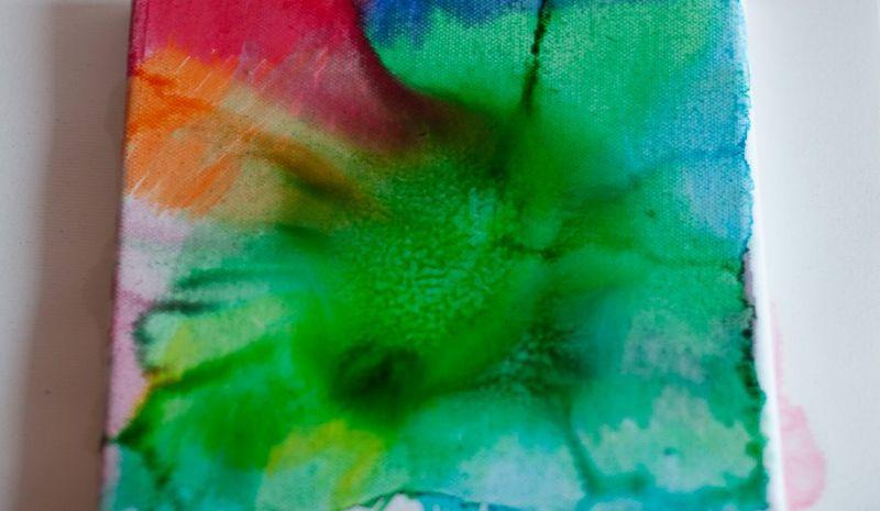 Akvarel na platnu