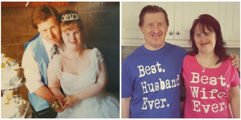 Prvi poročeni par z downovim sindromom Maryanne in Tommy