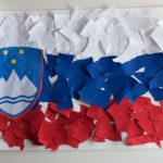 Izdelava slovenske zastave za otroke