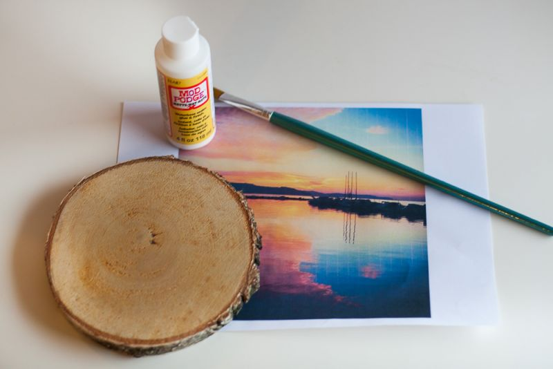 Kako prenesemo fotografije ne les