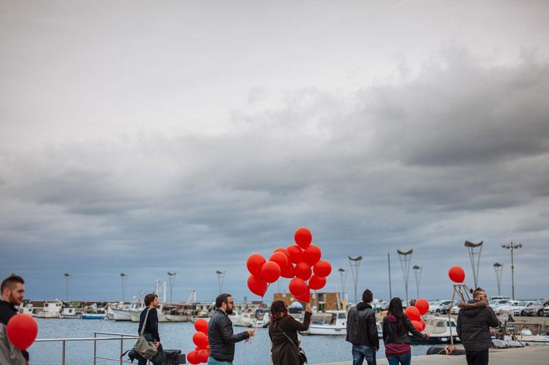 3. pohod Rdeči baloni, 2017, Koper