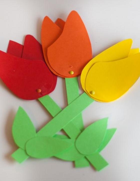 DIY šopek rož iz šeleshamerja