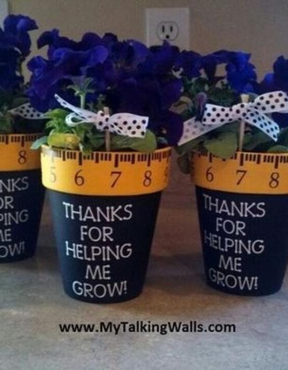 DIY darila za vzgojiteljice
