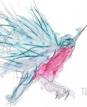 Neverjetne umetnine punce s celebralno paralizo