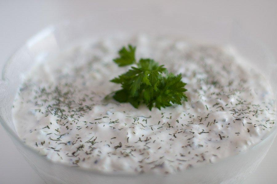 Tzatziki - najboljša solata za žar