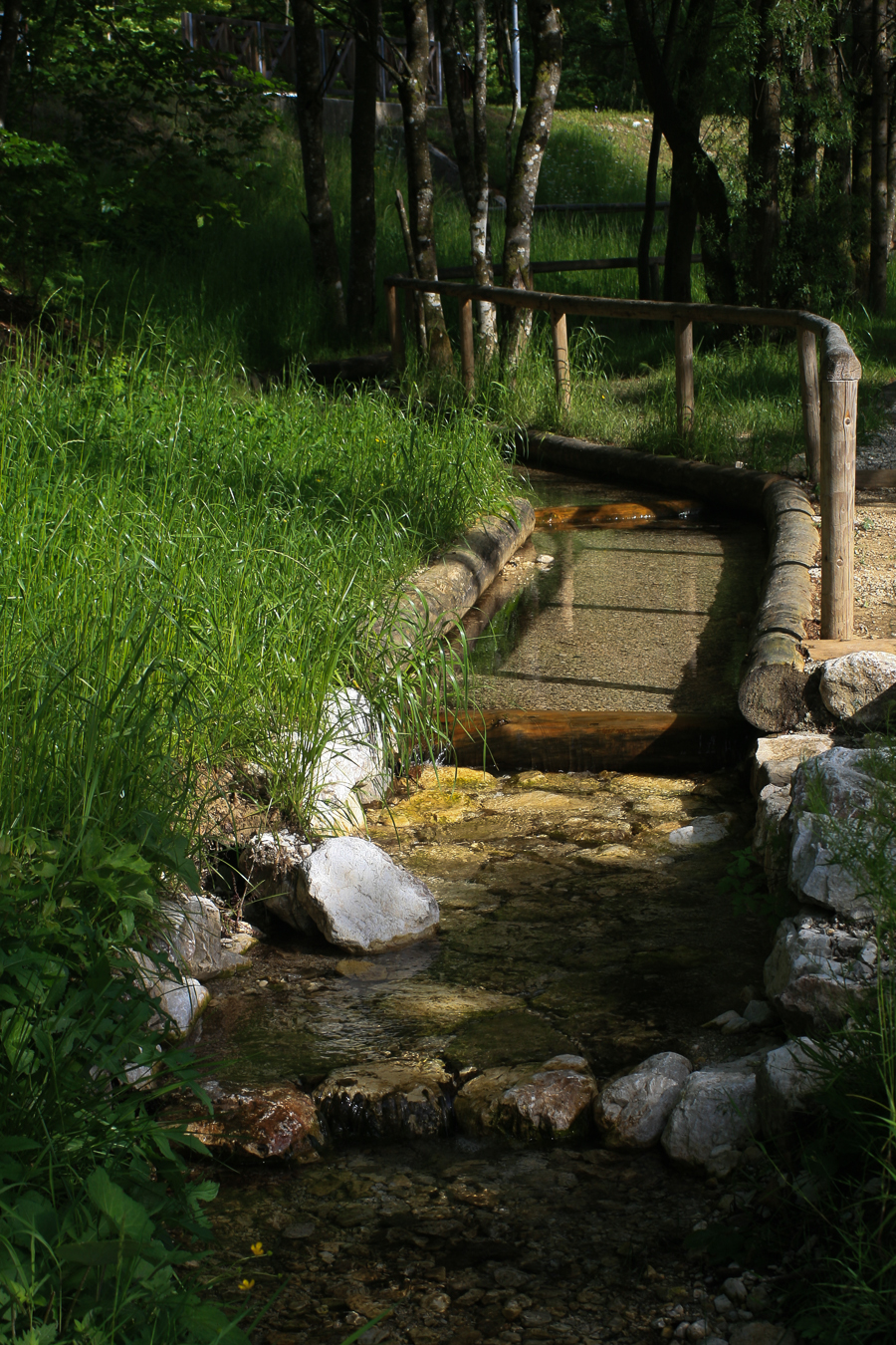 Kranjska Gora jezero Jasna