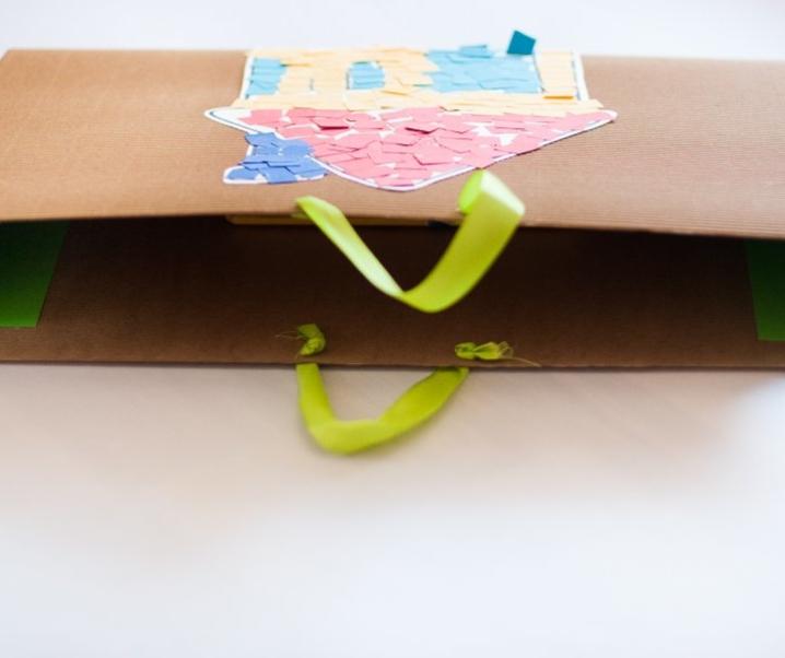 DIY – Mapa za shranjevanje otroških risbic