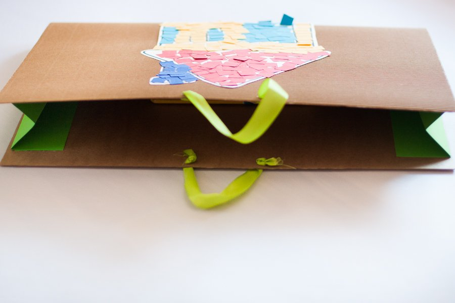 Mapa za otroške risbice DIY mapa A3
