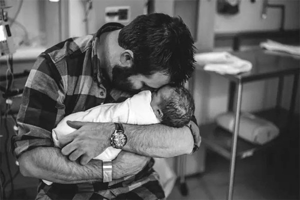 Očetje ob porodu