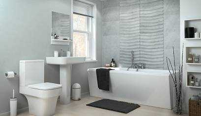 Kopalnica Doma narejeno čistilo za kopalnice