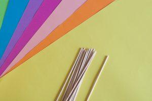 DIY rožice iz papirja