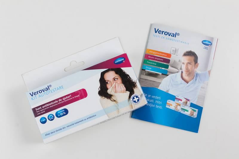 Hartmonnov kompletza samotestiranje Veroval – Ali potrebujem antibiotik?