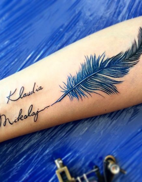 15 odličnih idej za tattoo z imenom vašega sončka