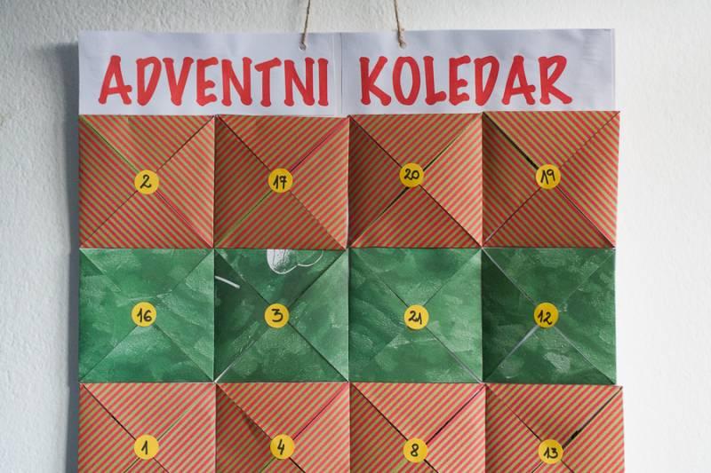 Adventni koledar za vso druzino