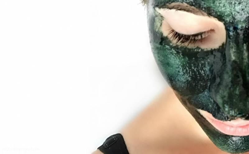 Maska s spirulino