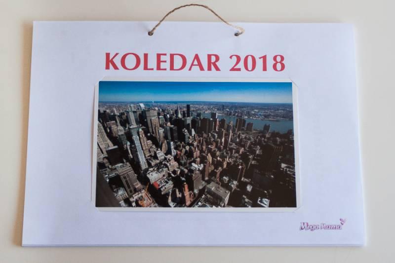 Koledar za fotografije 2018