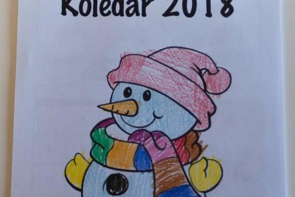 Otroški koledar, ki ga otroci sami izdelajo