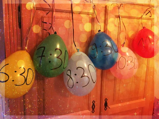 Zabaven skok v novo leto z otroki