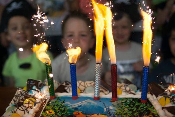 Nepozabna otroška rojstnodnevna zabava