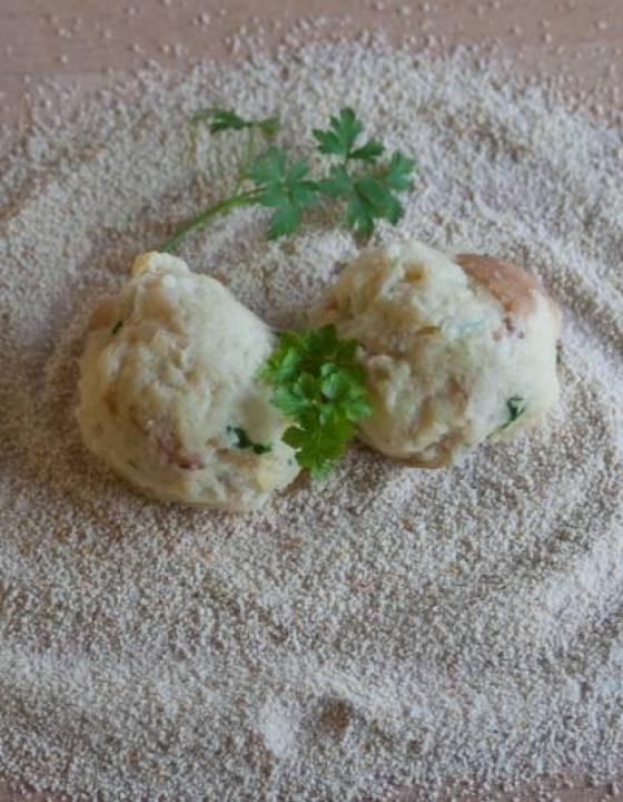 Kruhovi cmoki – recept