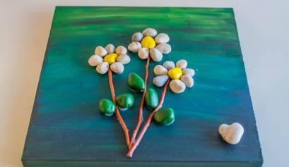 Ustvarjanje s kamenčki